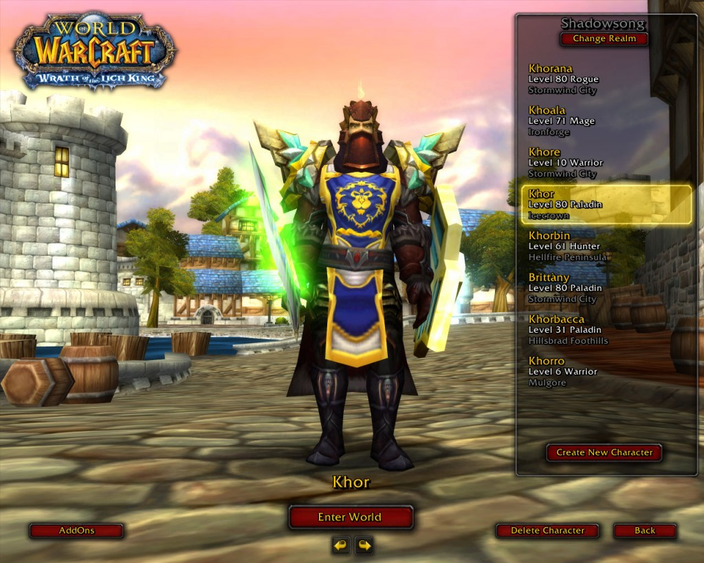 How to Clean Your World ofWarcraft Account