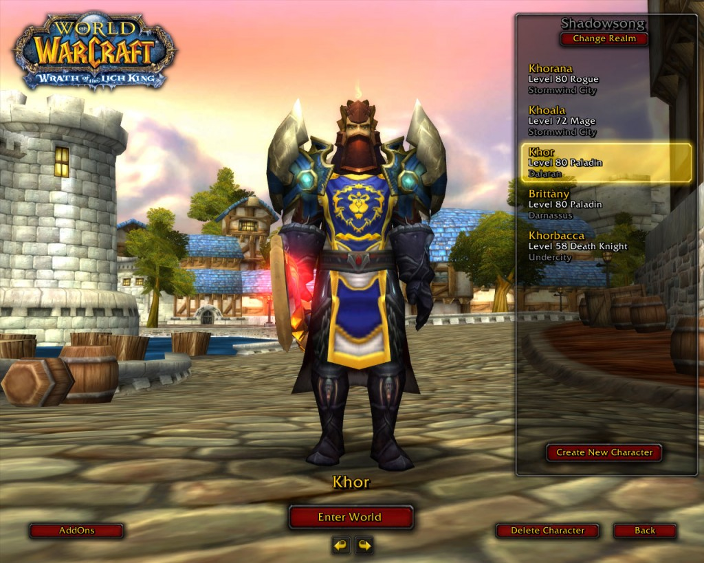 How to Clean Out Your World of Warcraft Account