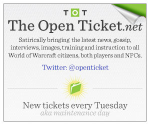 the open ticket