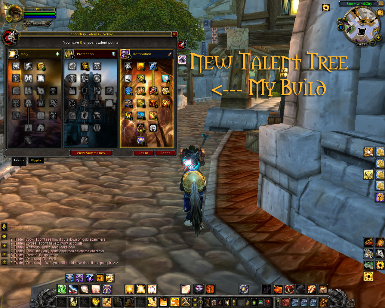Cataclysm ptr talent tree retribution paladin guide wow